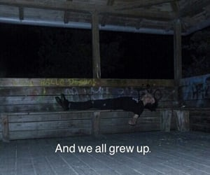 aesthetic, dark, and growing up image