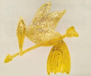 bird, glitter, and sparkling image