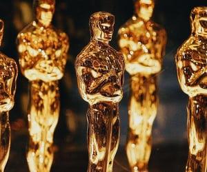 award, golden, and oscars image