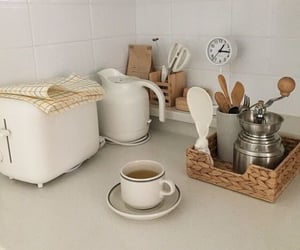 aesthetic, kitchen, and beige image