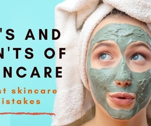 article, skincare, and myths about skincare image