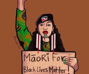 activism, Maori, and blm image