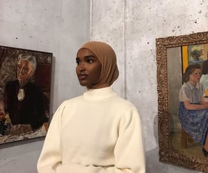 art, aesthetic, and hijab image