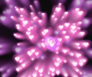 art, hearts, and loveheart image