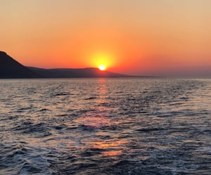 cyprus, relaxing, and sunset image