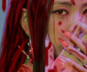 blood, lisa, and kimjisoo image