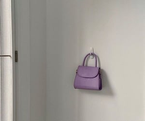 bag, purple, and aesthetic image