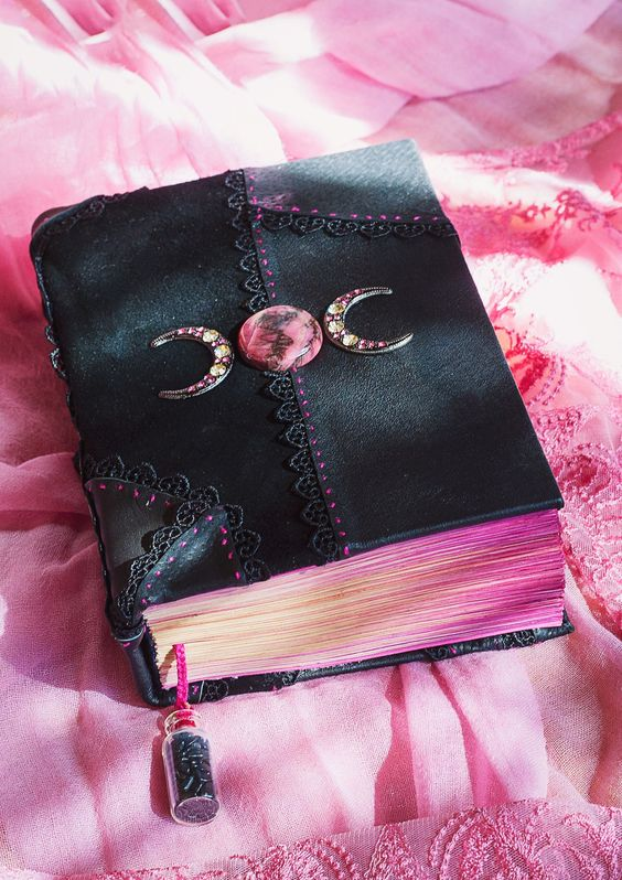 magic, witch, and book of shadows image