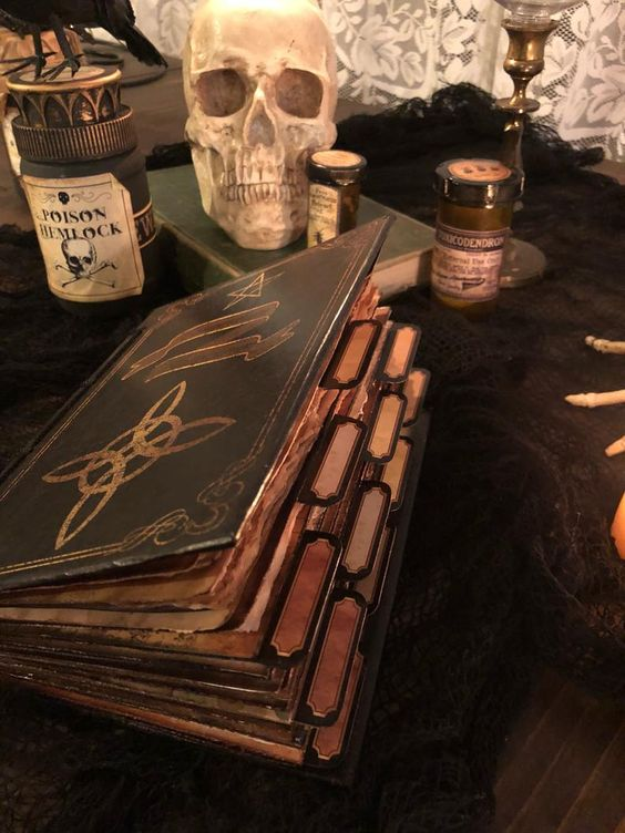 magic, book of shadows, and witch image