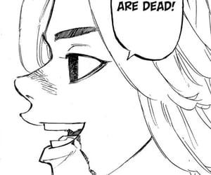 mikey, manga panel, and toman image