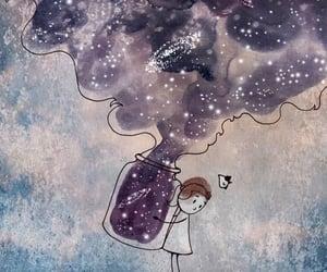 art, star, and stars image