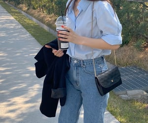 outfit, ulzzang girl, and korean style image
