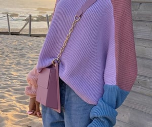 beach, fashion, and pastel image