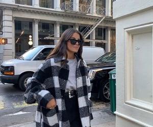 girl, fashion, and glasses image