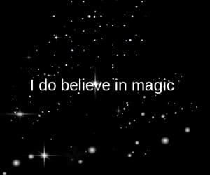 gif, stars, and believe in magic image
