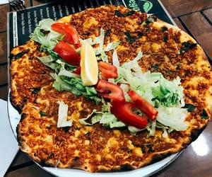 pizza, turkish food, and vegan image