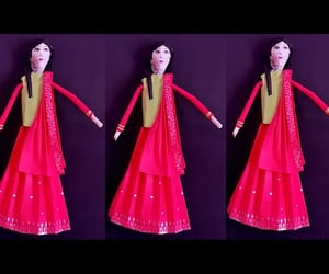 paper toy, craft for kids, and colour paper craft image