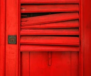 closeup, color, and door image