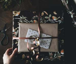 wrapping and gift image