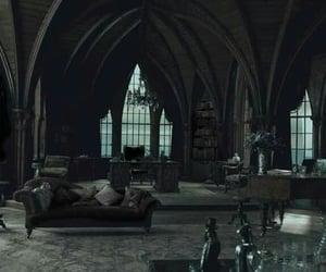 dark, room, and gothic image
