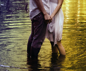 couple, holding hands, and photography image