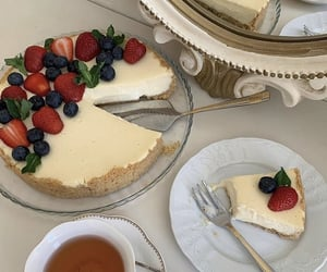 cake, food, and breakfast image