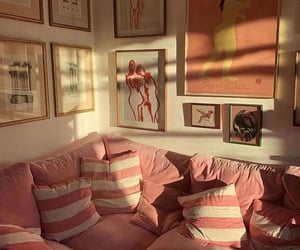aesthetic, interior, and pink image