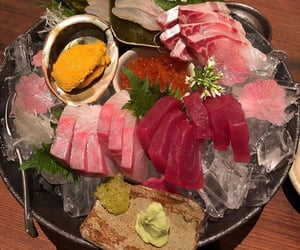 fish, food, and raw image