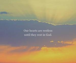 faith, god, and heart image