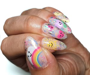nail art, gel nails, and acrylic nails image