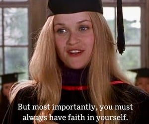 elle woods, faith, and graduation image