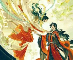 anime, bl, and hua cheng image