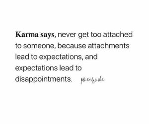 karma, lead, and quote image