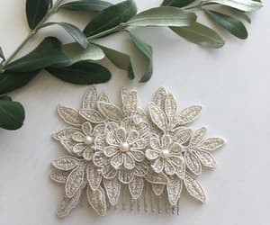 etsy, bridal accessories, and bridal hair comb image