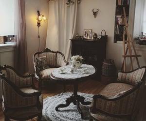 house, romance, and tea image