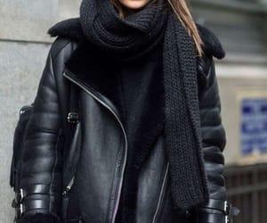black, cafe, and fashion image