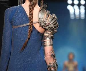 armor, fashion, and jean paul gautier image
