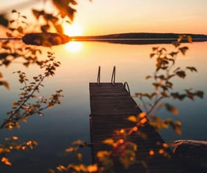 finland, sunset, and instagram image
