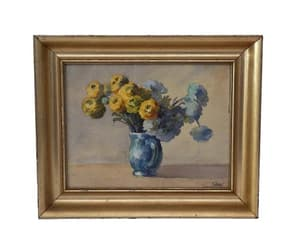 etsy, watercolor flower, and still life painting image