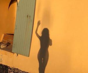 aesthetic, yellow, and body image