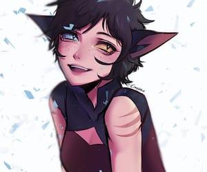 cat girl, she-ra, and she ra image