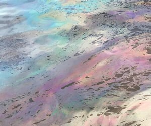 colors, pavement, and oil image