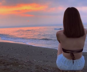cyprus, sunset, and loveit image