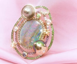 accessories, brooch, and celestial image
