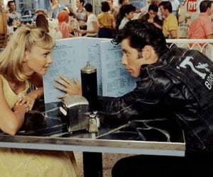 grease, movie, and retro image