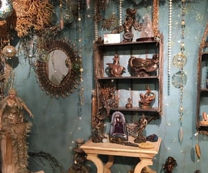 crystals, witch, and shrine image