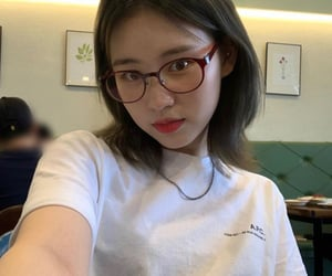 asian, chinese, and glasses image