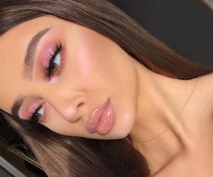 aesthetic, beautiful, and eye makeup image