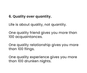lessons, quality, and quotes image