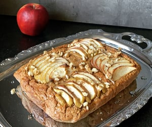 apple, cake, and healthy image